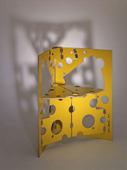 Folding chair - cheese.