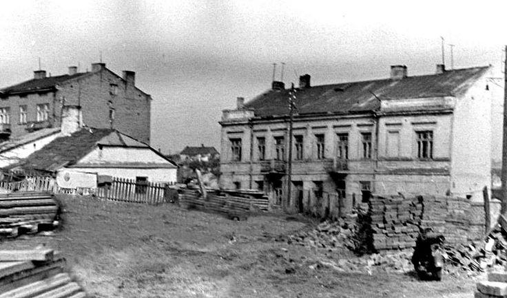 Przyszły teren budynku Lasów Państwowych przy ul. Czechowskiej fot. M. Jakóbiec