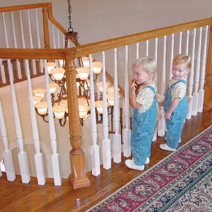 Kid Baby Banister Gate Roll Clear Plastic Guard Stairway