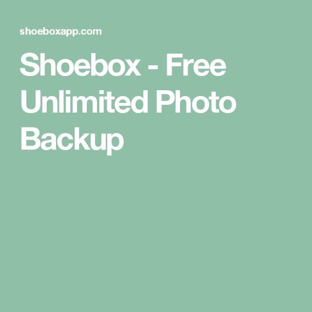Shoebox - Free Unlimited Photo Backup