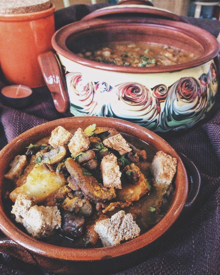 #Recipes - Zuppa d'autunno // Fall soup #vegan #veggie