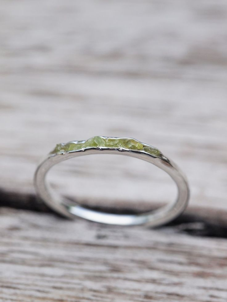Arizona Peridot Ring // Hidden Gems