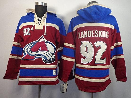 wholesale dealer da962 85592 nhl hoodies colorado avalanche 33 patrick roy red old time ...