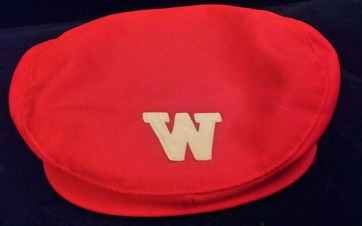 Vintage Wisconsin Badgers Beanie Hat Cap #WisconsinBadgers