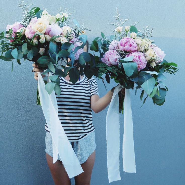 LU DIAMOND FLOWERS   double trouble bridal bouquets
