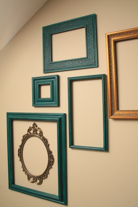 great ideas decorating solutions 2 - Empty Frames