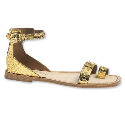 Tod's Python Sandals