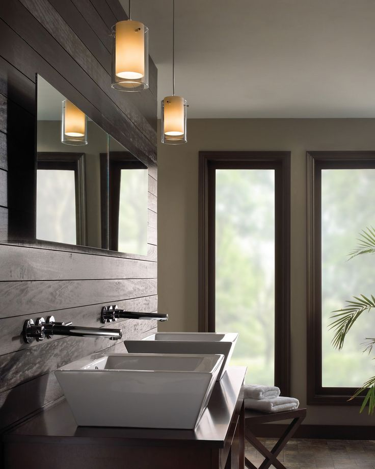 Bathroom Pendant Lighting to Complete the Decoration for Modern Bathroom…