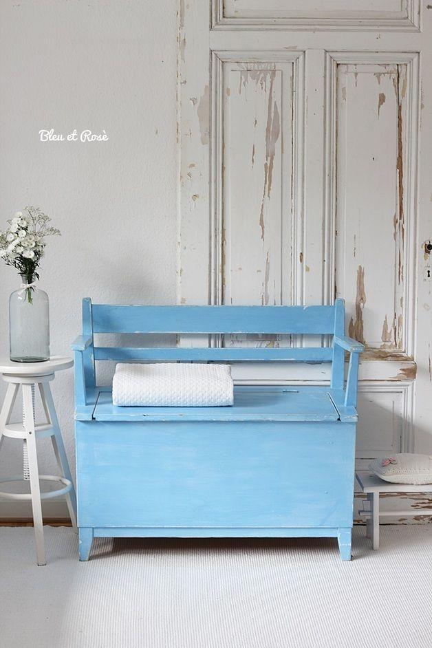 1000 ideas about truhenbank on pinterest oliver. Black Bedroom Furniture Sets. Home Design Ideas