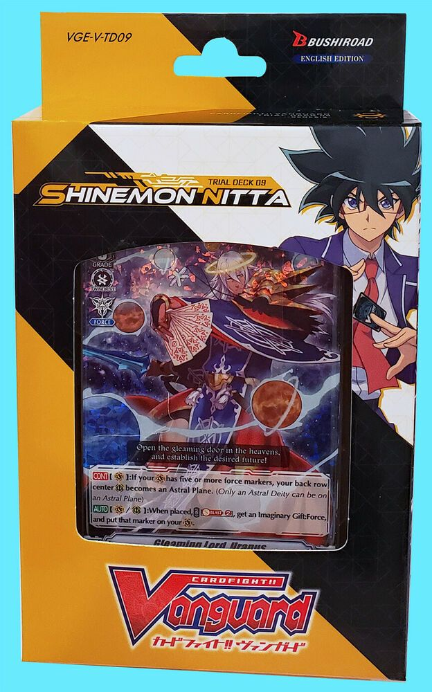 Sealed Cardfight!! Vanguard Shinemon Nitta Sleeves