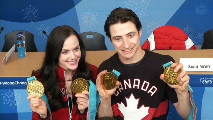 Virtue, Moir fend off relationship rumours after ice dance gold at Olympics