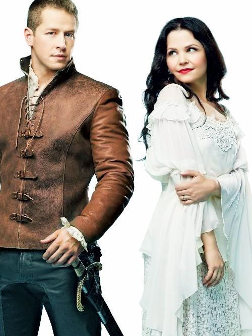 Josh Dallas as Prince Charming & Ginnifer Goodwin as Snow White in Once Upon a Time