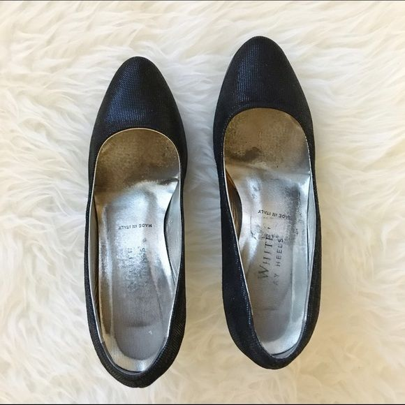Ron White All Day Heels black Authentic Ron White All Day Heels black size 6. The heels is a bit narrow for me. Made in Italy! Gently worn Ron White All Day Heels Shoes Heels