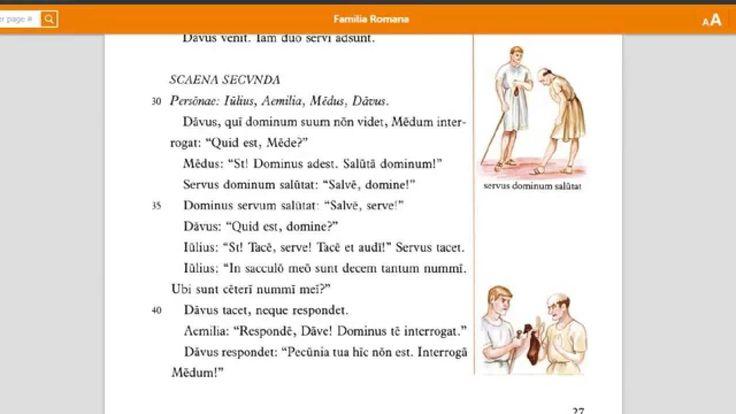 Lingua Latina per se Illistrata, Pars I: Familia Romana. Capitulum IV. - YouTube