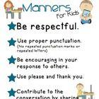 Social Media Manners Freebie