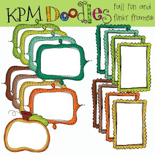KPM DoodlesFun Clipart, Kpm Doodles, Funky Frames, Fall Funky, Download Fall, Digital Clips, Frames Digital, Doodles Ooo, Clips Art