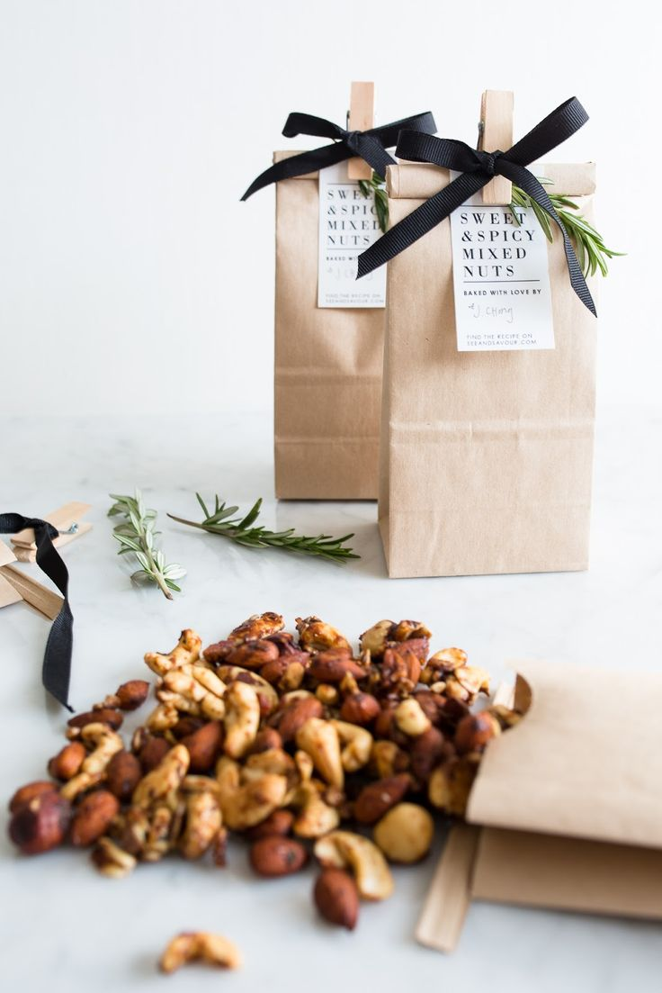 Sweet + Spicy Mixed Nuts