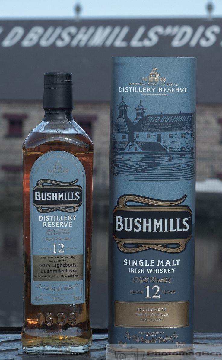 Bushmills Distillery Reserve 12 YO #Bushmills #TheEdgeRockCafe
