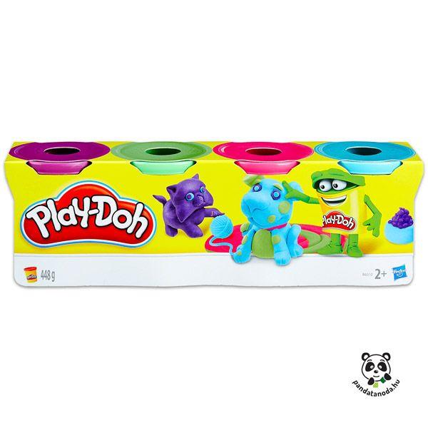 4 darabos gyurma szett világos színekben Play-doh | Pandatanoda.hu Játék webáruház