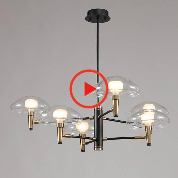 Post Modern Scaleph Pendant Light Clear Glass Shade G9 Bulb Kung Living Dinning Room Home In 2020 Bulb Light Led Bulb