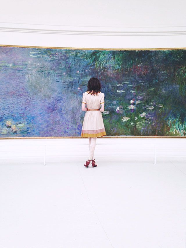 """Musée de l'Orangerie, which houses Monet's magnificent """"Water Lily"""" series as well as a collection of Cézannes, Renoirs and Picassos. http://www.abercrombiekent.com.au/france/itineraries/art-treasures-of-france-with-lara-nicholls-an-ak-hosted-journey.cfm"""