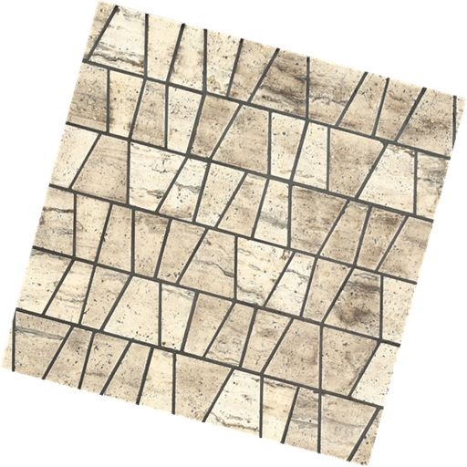 Mosaic Marble Castle pyramid gold