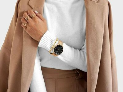 Camel Coat, White Turtleneck, Watch  Street style, street fashion, best street style, OOTD, OOTD Inspo, street style stalking, outfit ideas, what to wear now, Fashion Bloggers, Style, Seasonal Style, Outfit Inspiration, Trends, Looks, Outfits.