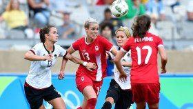 Pour une deuxième fois consécutive aux Jeux olympiques, l'équipe canadienne de…