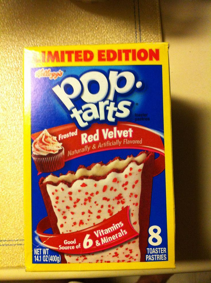 Kelloggs pop-tarts frosted red velvet