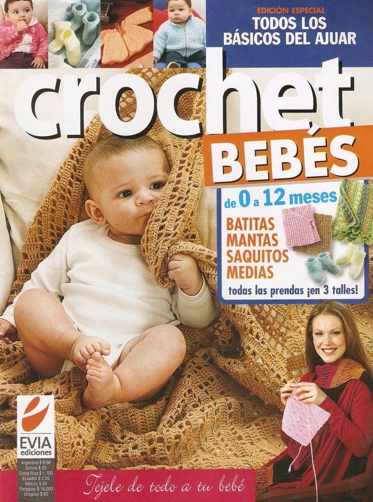 RECEITA TRICÔ FÁCIL   Revista Online CROCHET BEBÊS                                                                                      ...