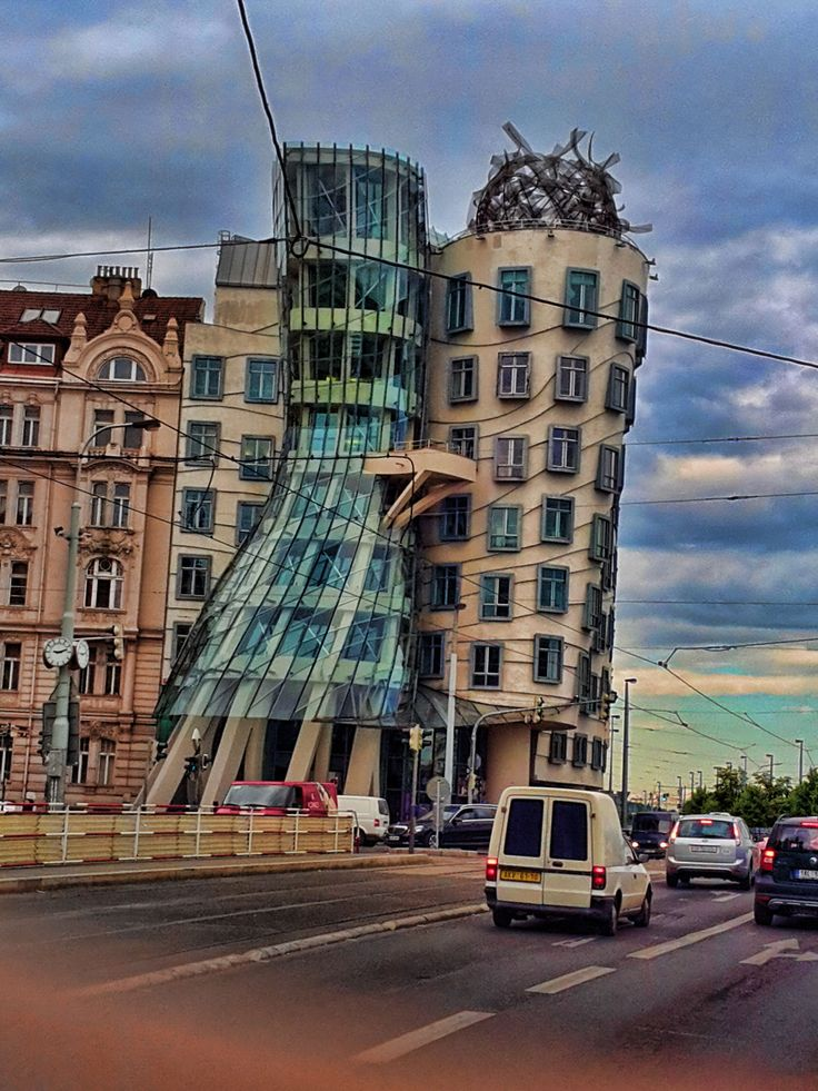 Prague. Dancing Building  © Akistoy Aki