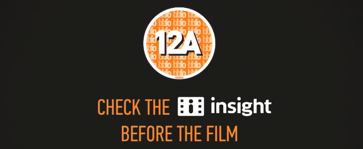 BBFC launch 12A cinema advert | British Board of Film Classification