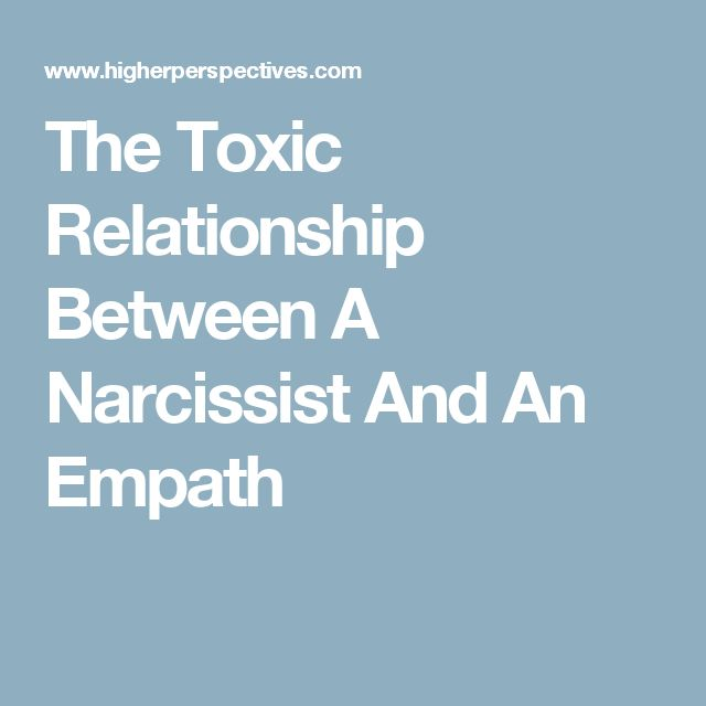 empath and narcissist toxic relationship