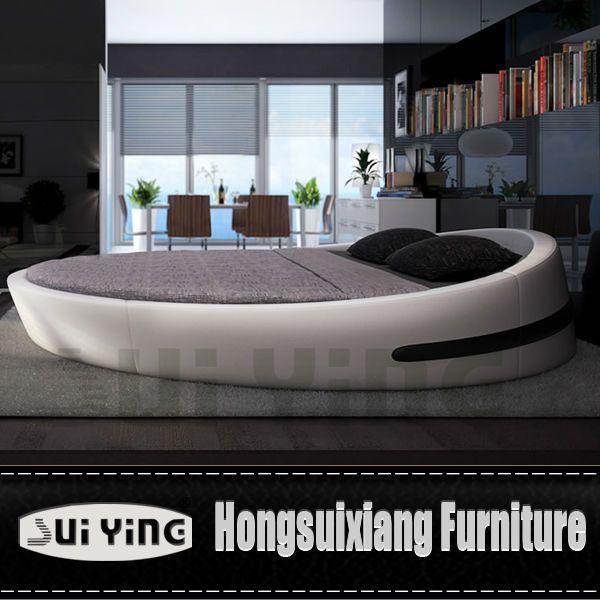 Cheap Modern Bed: Cy004 Modern Nice Design Round Bed