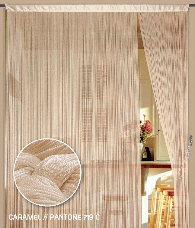 Pin Von Marcela Pragerova Auf Male Byty Fadenvorhang Vorhange Tur Vorhang