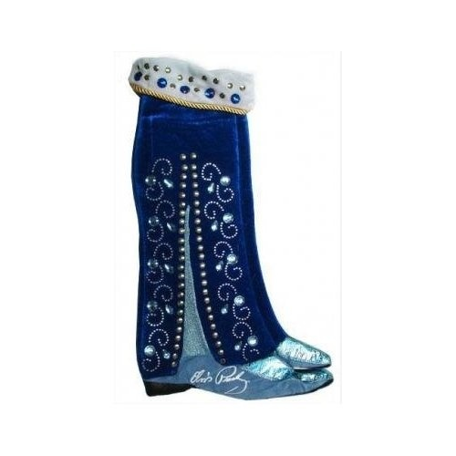 Elvis Blue Suede Shoes Stocking