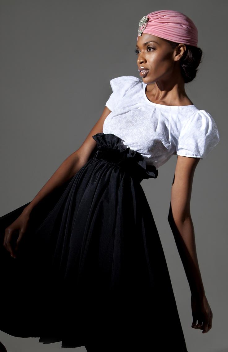 Phototographer: Angie Lazaro / Stylist: Alexis Chaffe / Model: Mala from Moda Models / Make Up: Nathaline Renaud from Monopole