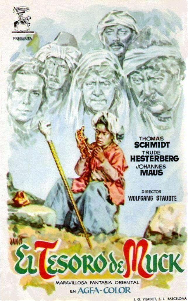 """El tesoro de Muck (1953) """"Die Geschichte vom kleinen Muck"""" de Wolfgang Staudte - tt0045470"""