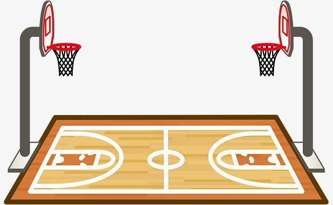 Basketball Court Clipart Png Basketball Court Basketball Basketball Court Layout