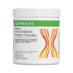 Formula 3: Formula 3 Personalised Protein Powder is een rijke bron van soja- en wei proteïne, wat u kan helpen bij het opbouwen van de groei en het behoud van spieren. magere spiermassa in het lichaam en het behoud van vitale botten.