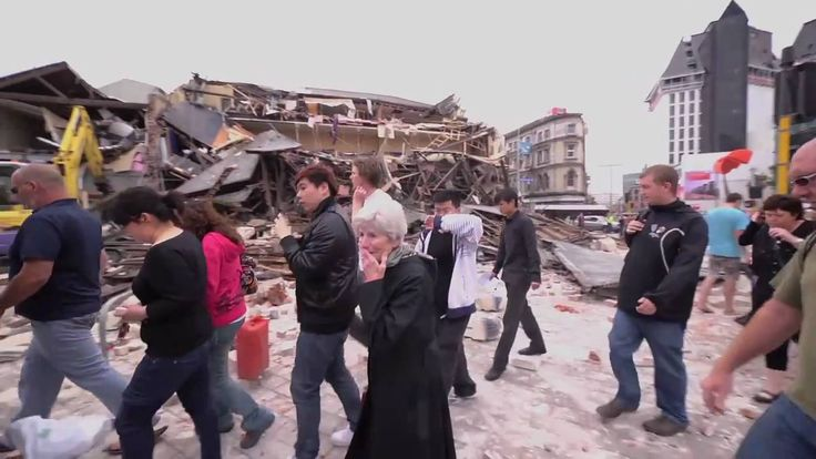 1 Minute After The Christchurch Earthquake - 22 February 2011 - 182 conf...