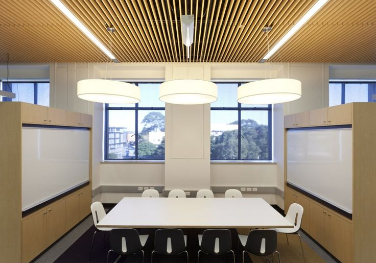 Slatted Timber Ceilings| Acoustic Slatted Ceiling