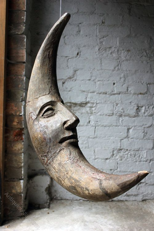 Antiques Atlas - Early 20thC French Mould As 'The Man In The Moon'