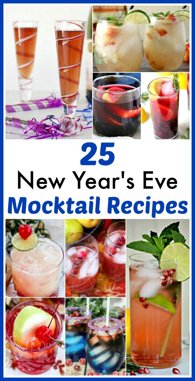 25 Delicious New Year's Eve Mocktail Recipes