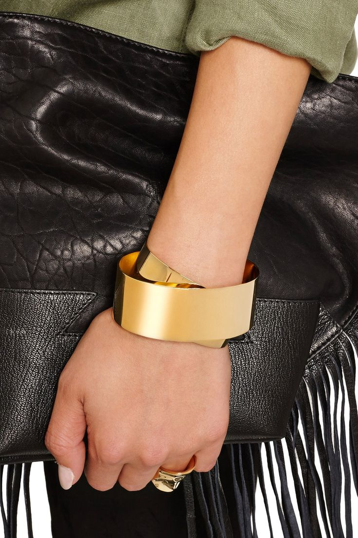 Shop on-sale Isabel Marant Gold-plated cuff. Browse other discount designer Jewelry & more on The Most Fashionable Fashion Outlet, THE OUTNET.COM