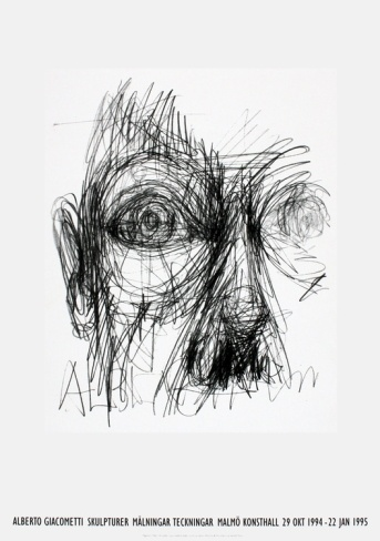 Eyes Limited Edition by Alberto Giacometti