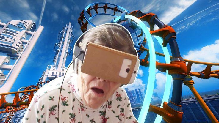 Как Ведут себя Старики в Очках Виртуальной Реальности