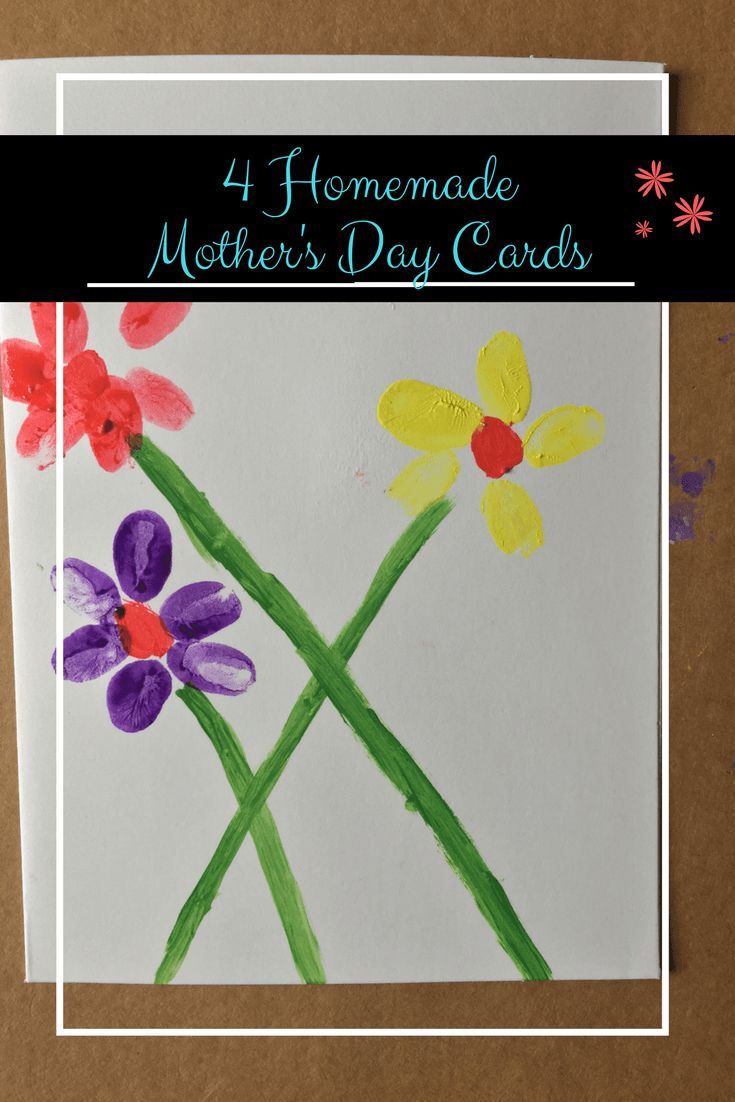 4 Homemade Mother's Day Card Ideas