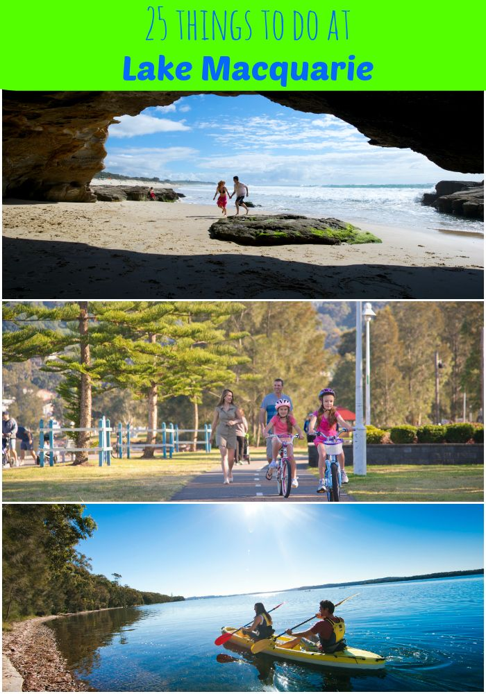 Lake Macquarie in NSW is just 1.5km from Sydney and so family-friendly. Find fab things to do with kids here.