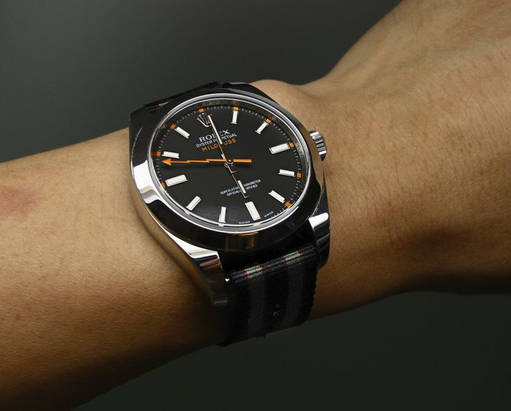 Rolex Milgauss Black Price